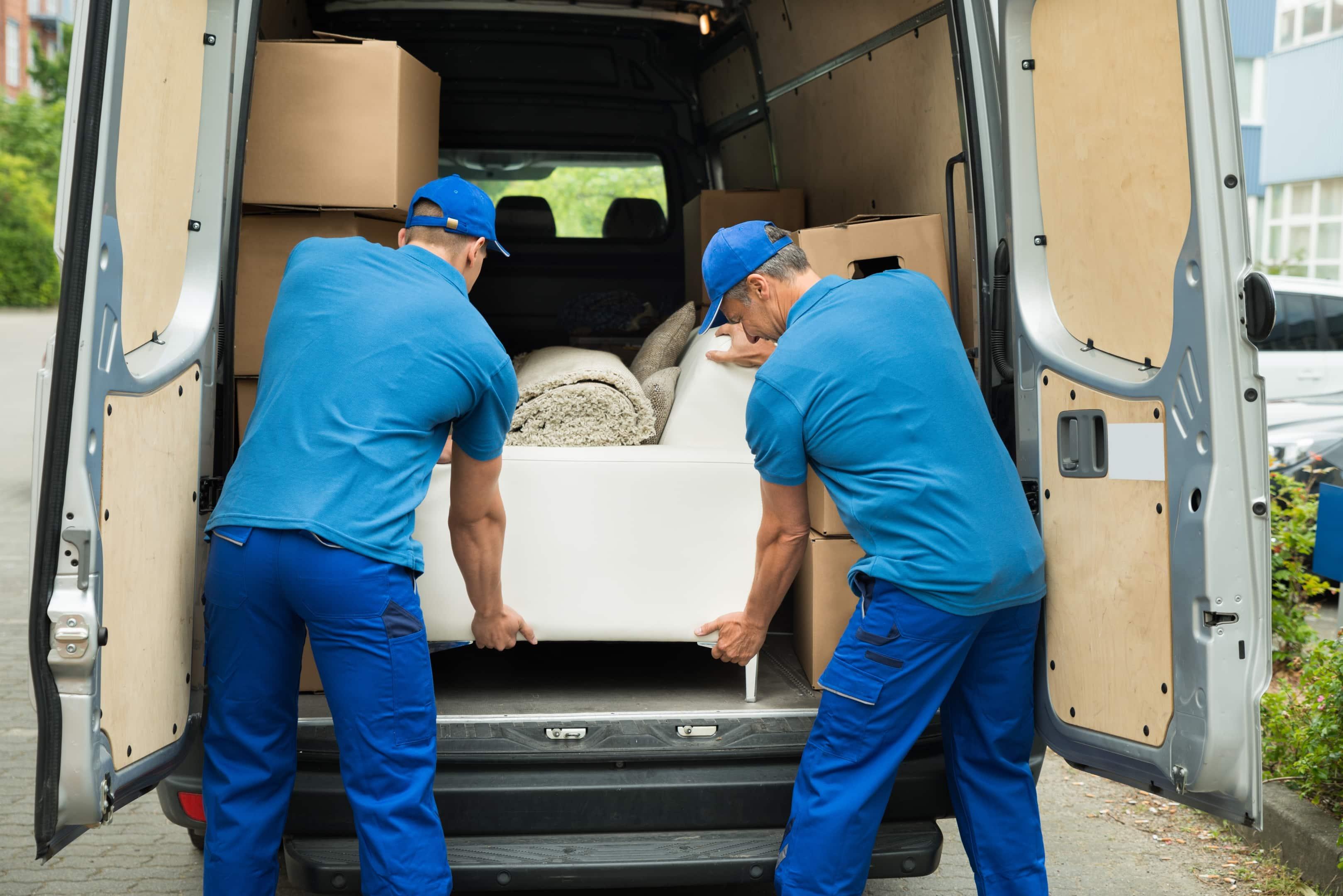 Transport de meubles après achat