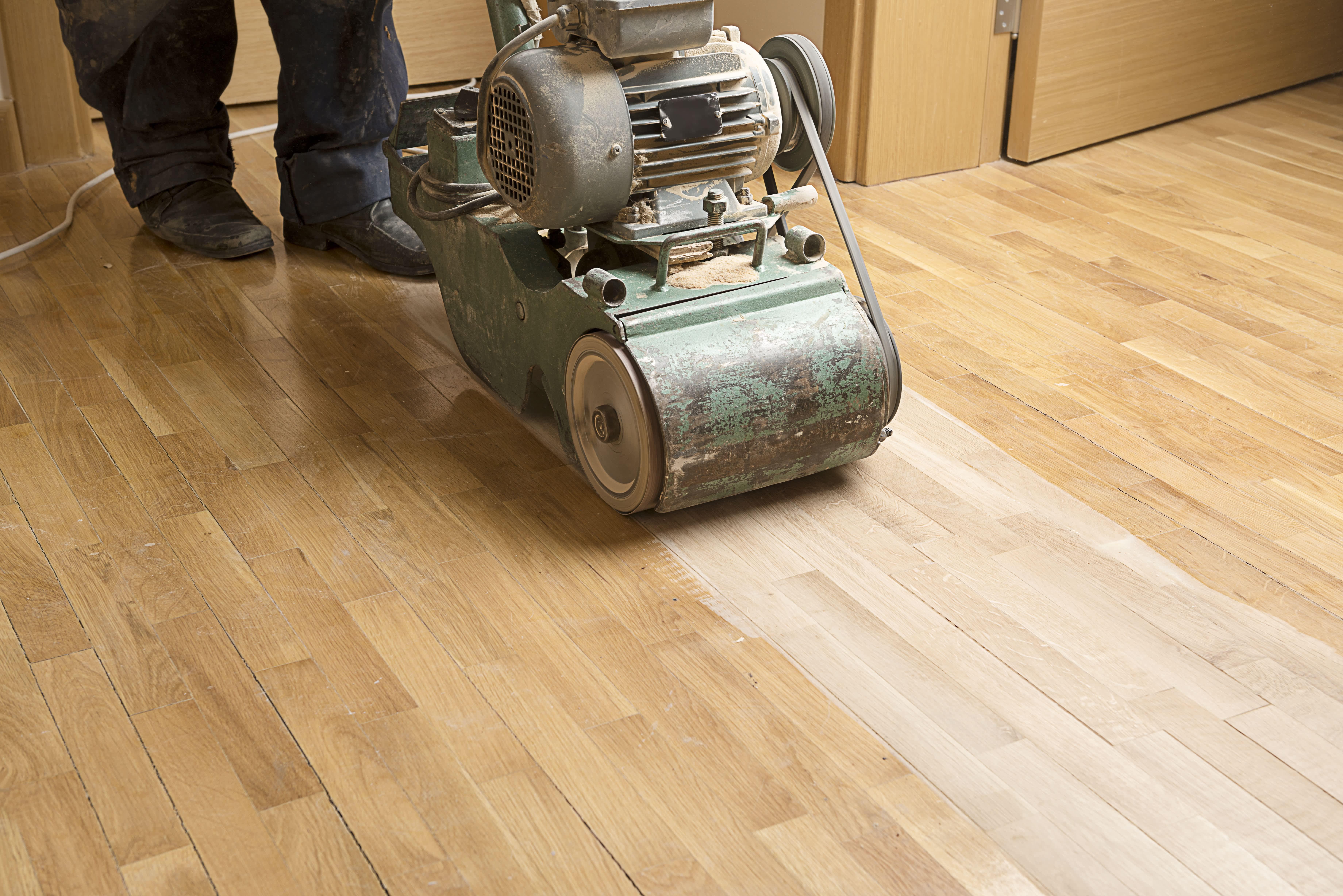 Sanding & Refinishing Hardwood Floors