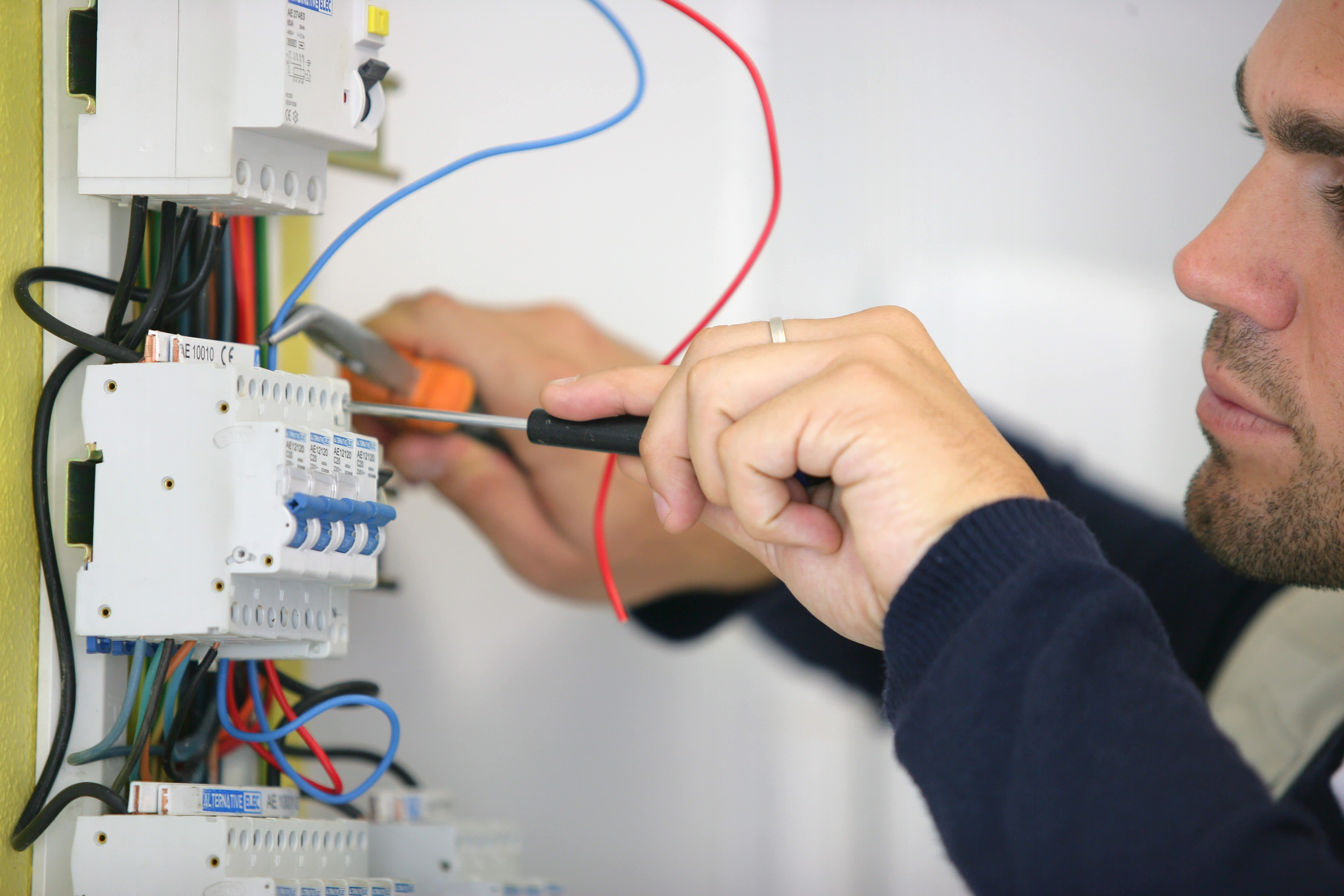 Electrical, plumbing and heating fit-out