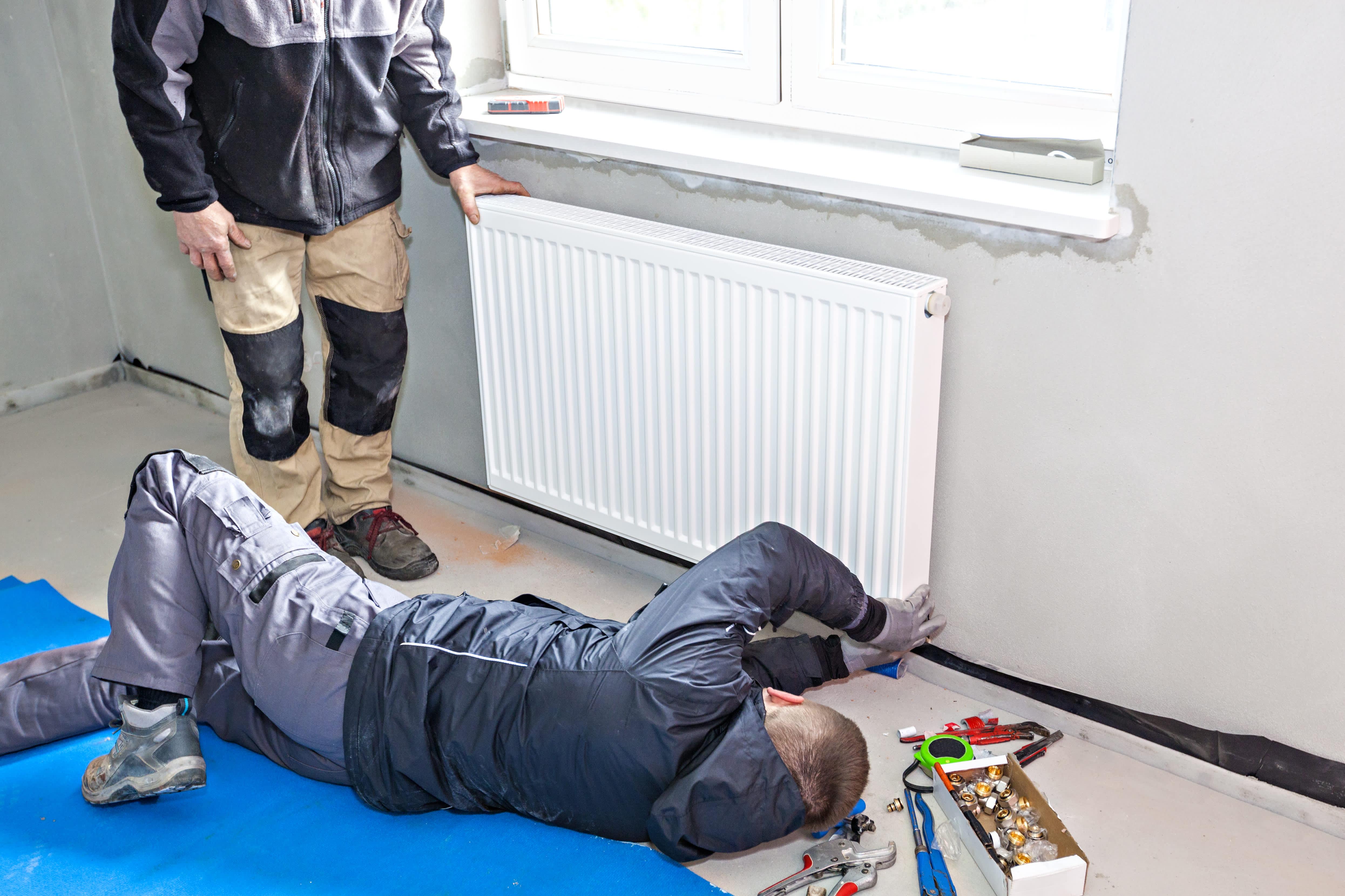 Radiator Central Heating Installation