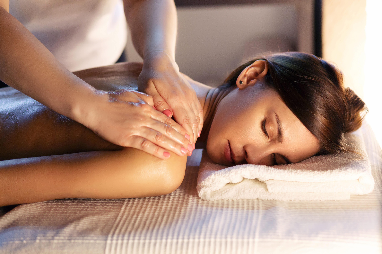 Испанский массаж фото