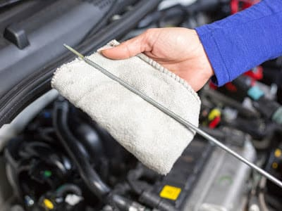Oil Change & Replacing of Oil Filters