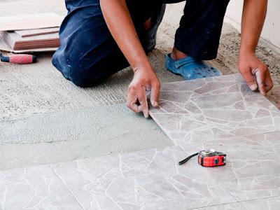 Natural Stone Tiles Installation
