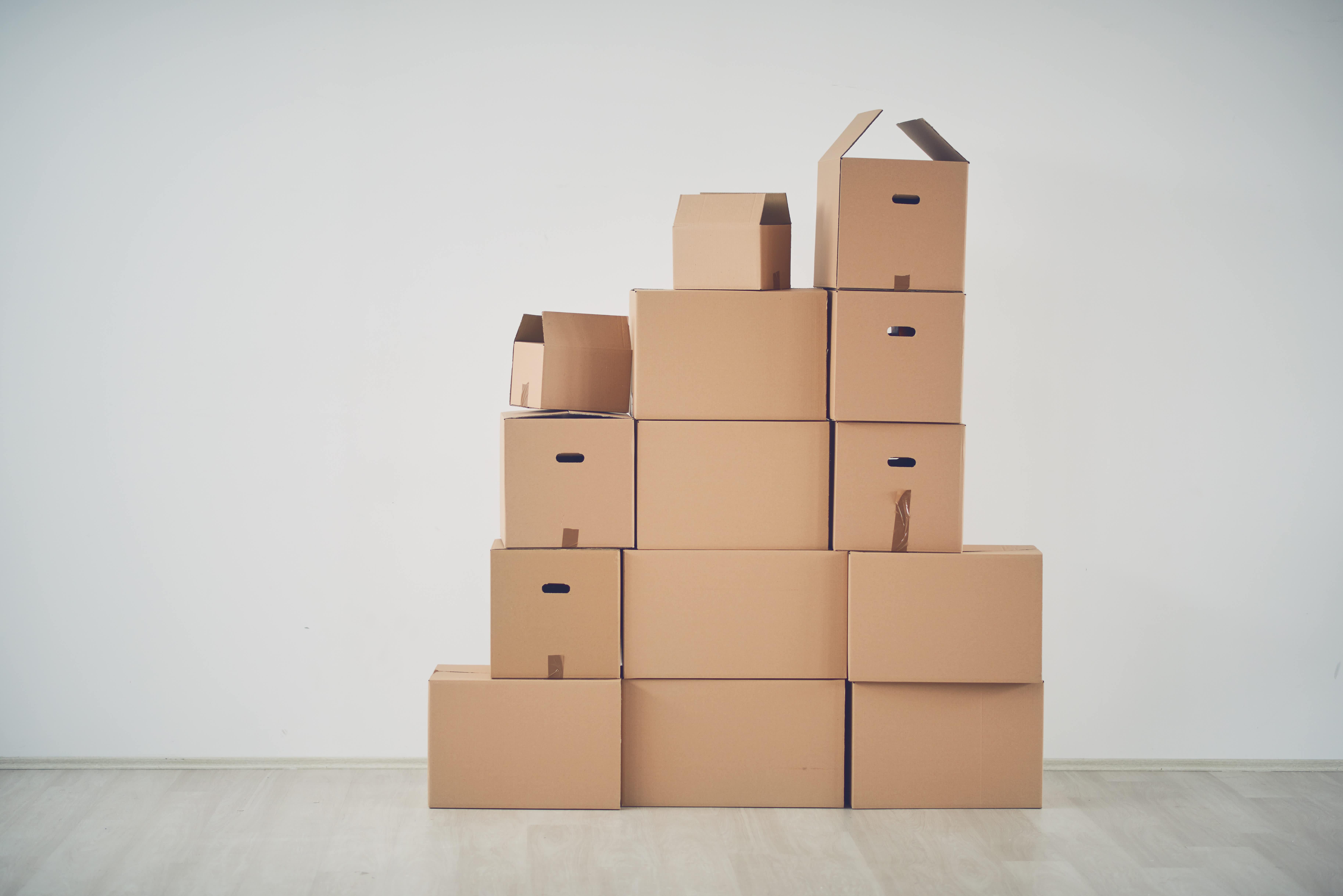 Transport de cartons