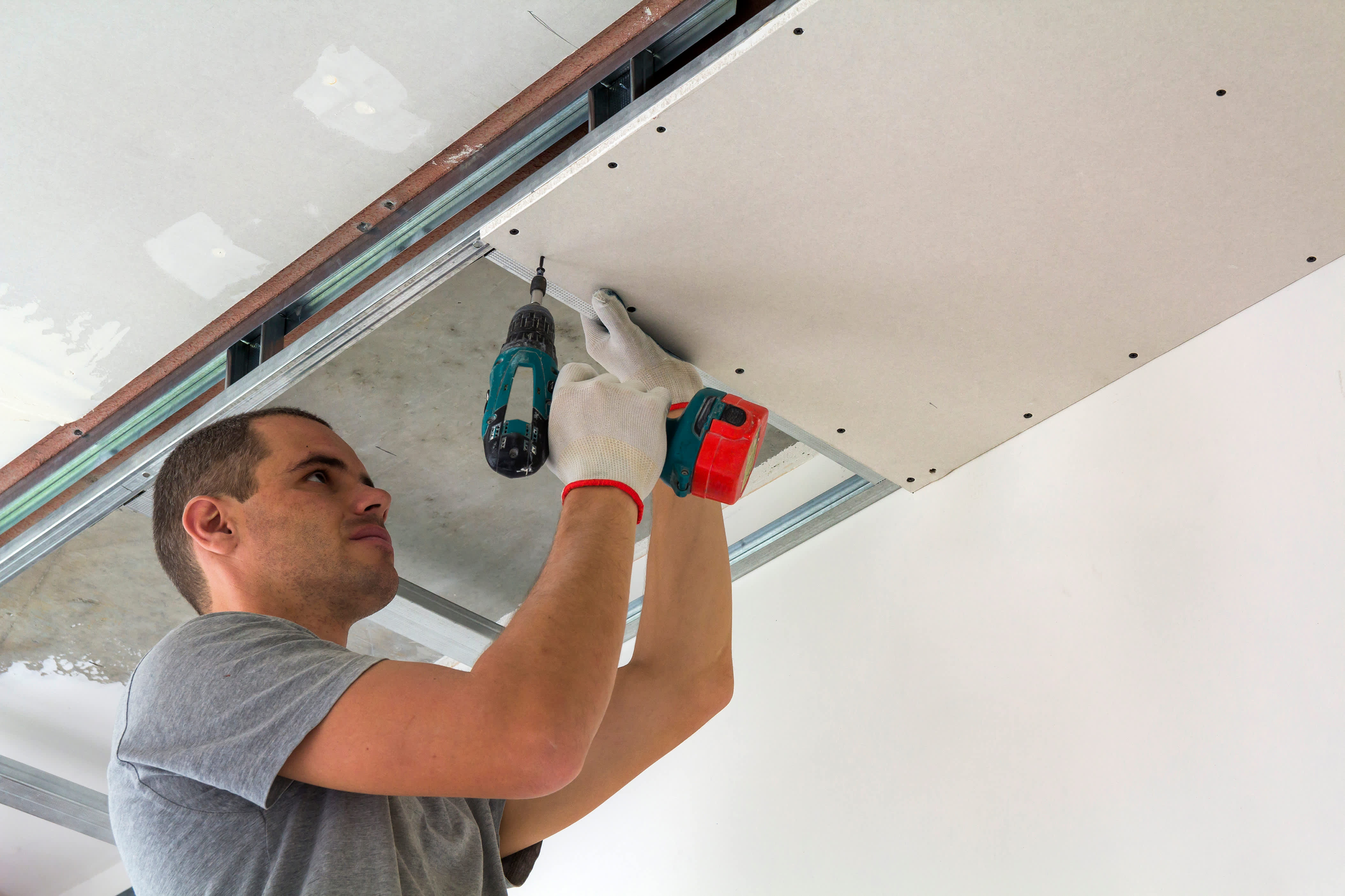 New or replacement suspended ceilings