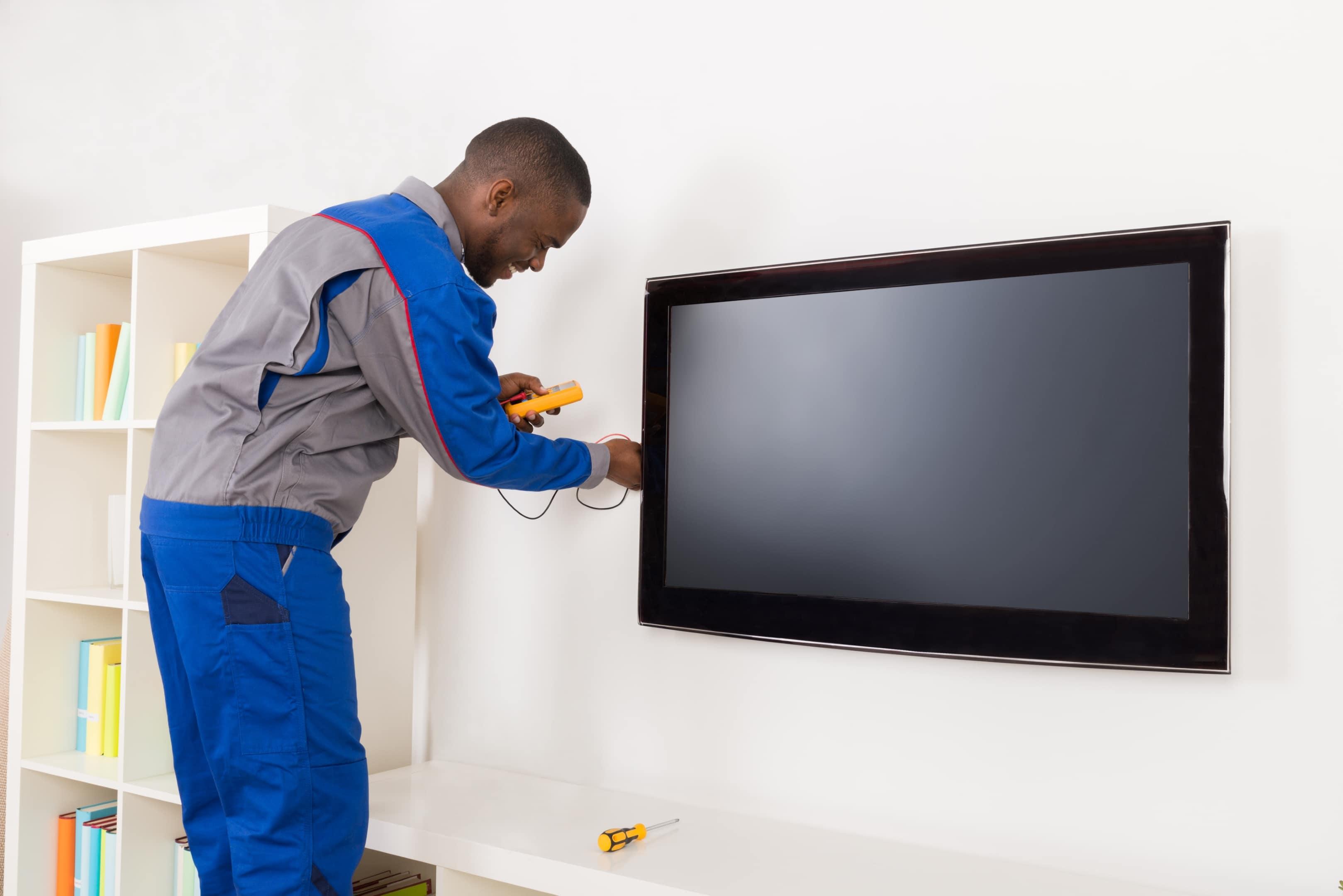 TV, Stand & Sound bar Installation