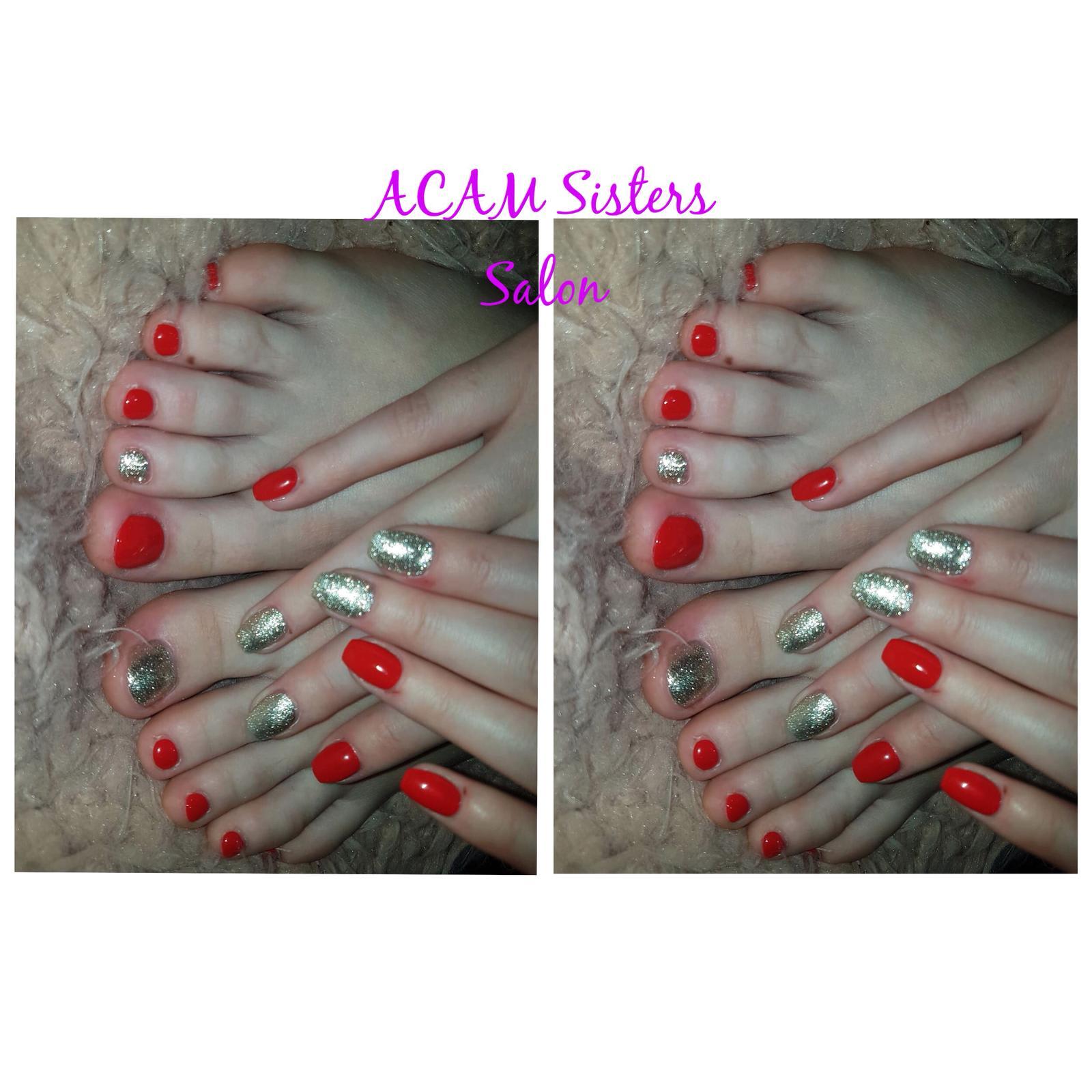 Ladies' Spa Pedicure -Shellac