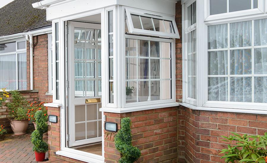 uPVC Porch & Dorma - Exterior & Interior cleans