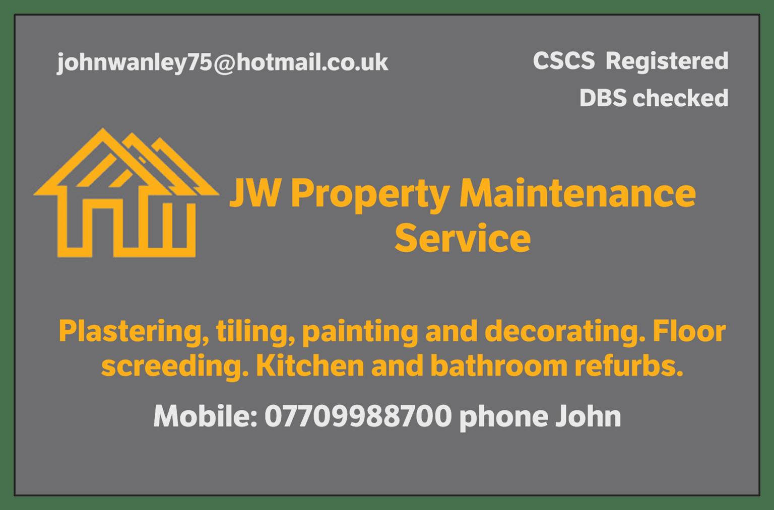 Jw Property Maintenance Service