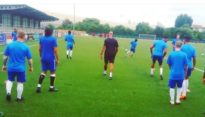 Team Training.