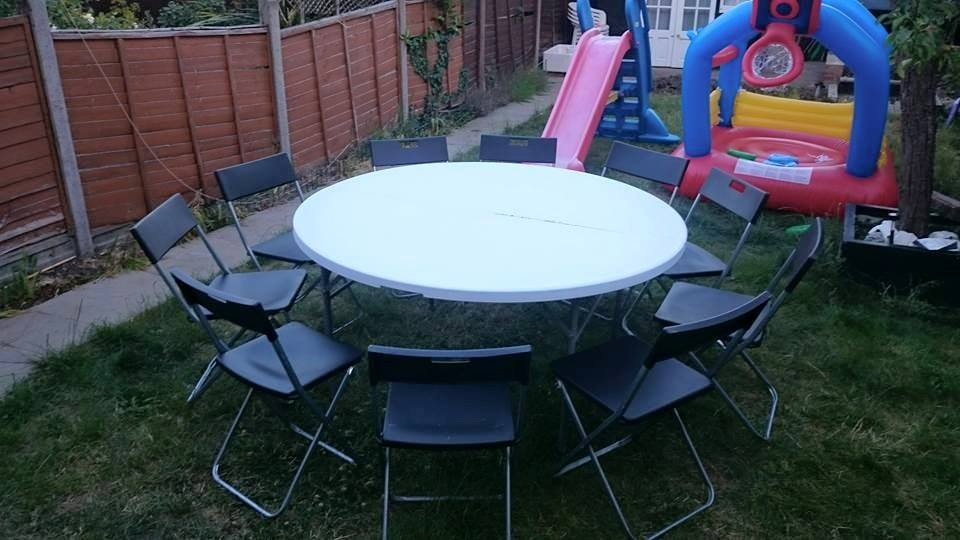 5 Ft Round Table Hire