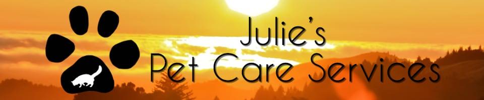Julie's Pet Care Services