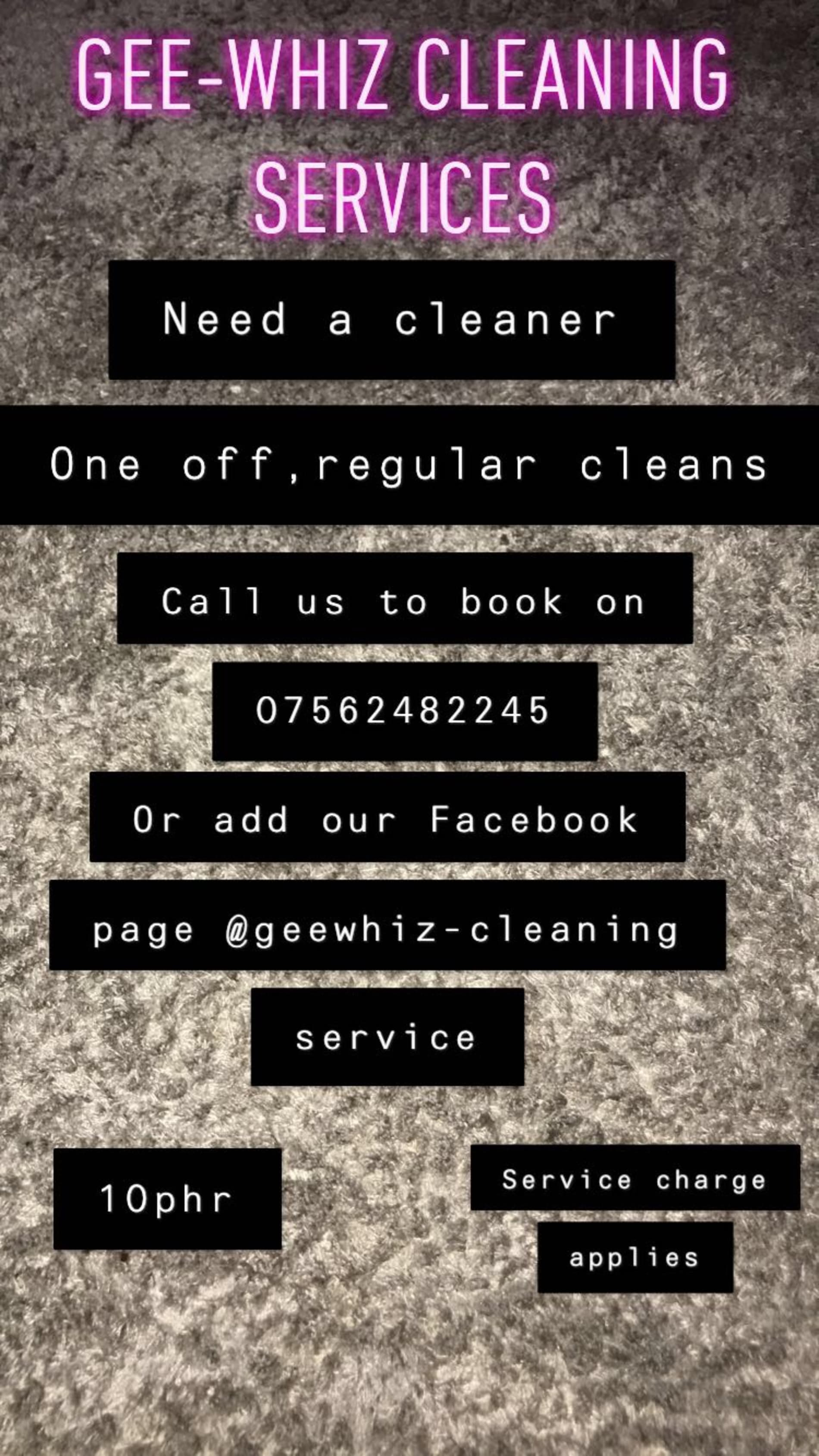 Gee-Whiz Cleaning Services