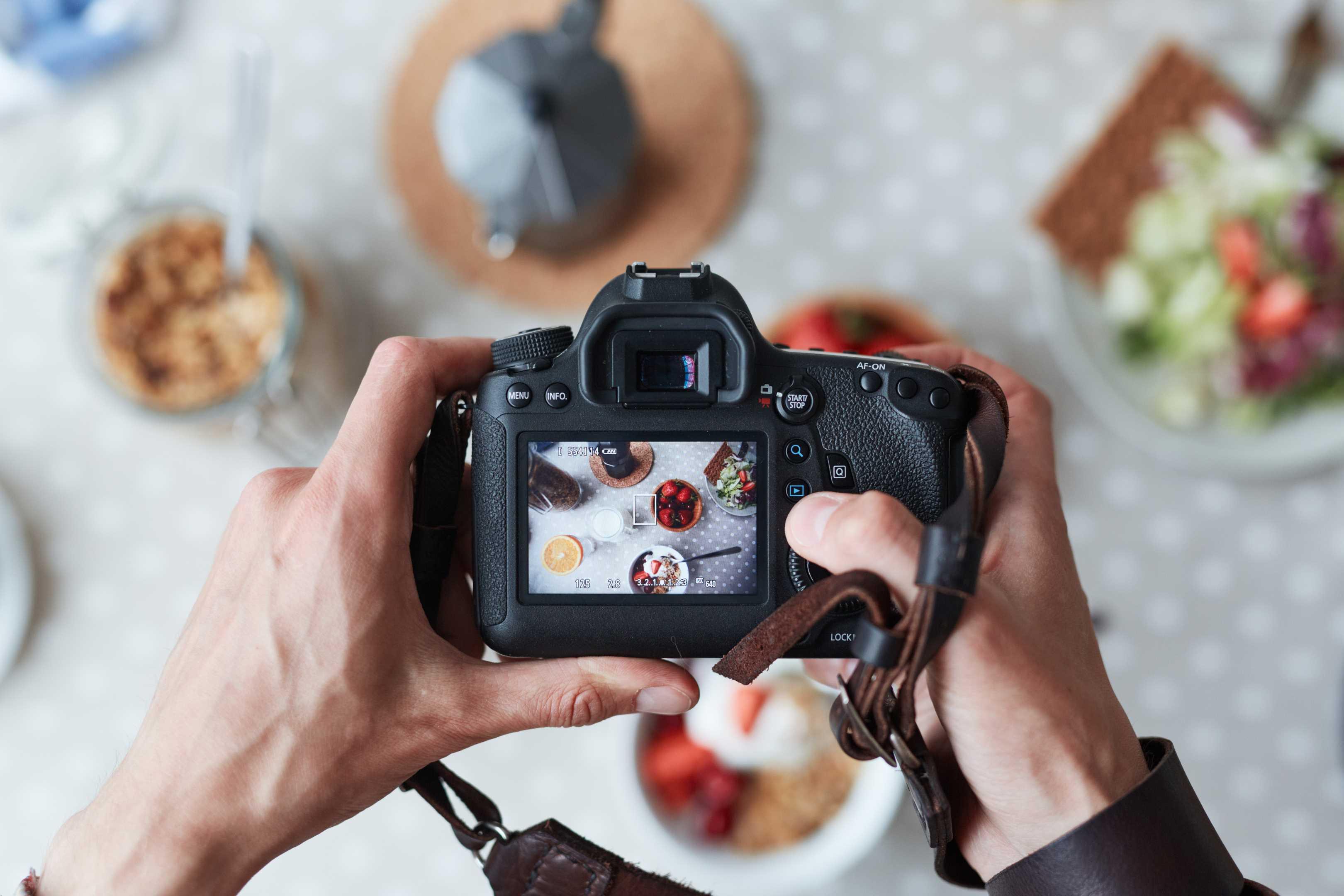 нескольких фото еды как правильно сделать кадр увидите альбом под