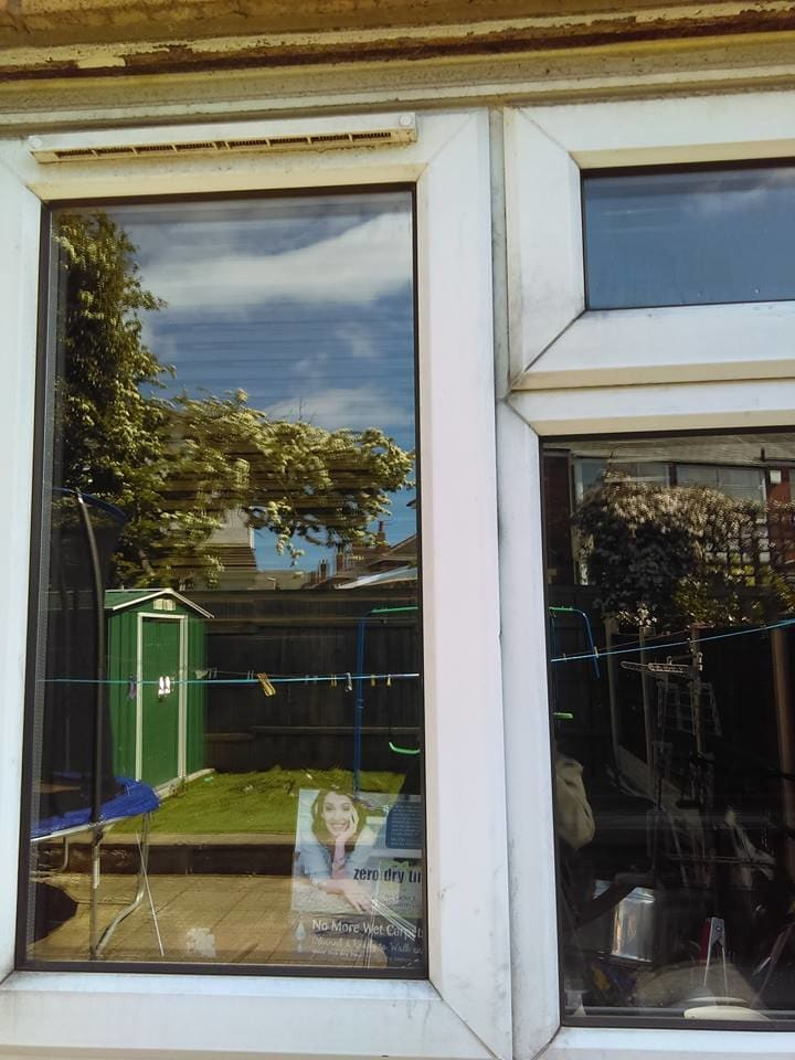 UPVC Frame Cleaning