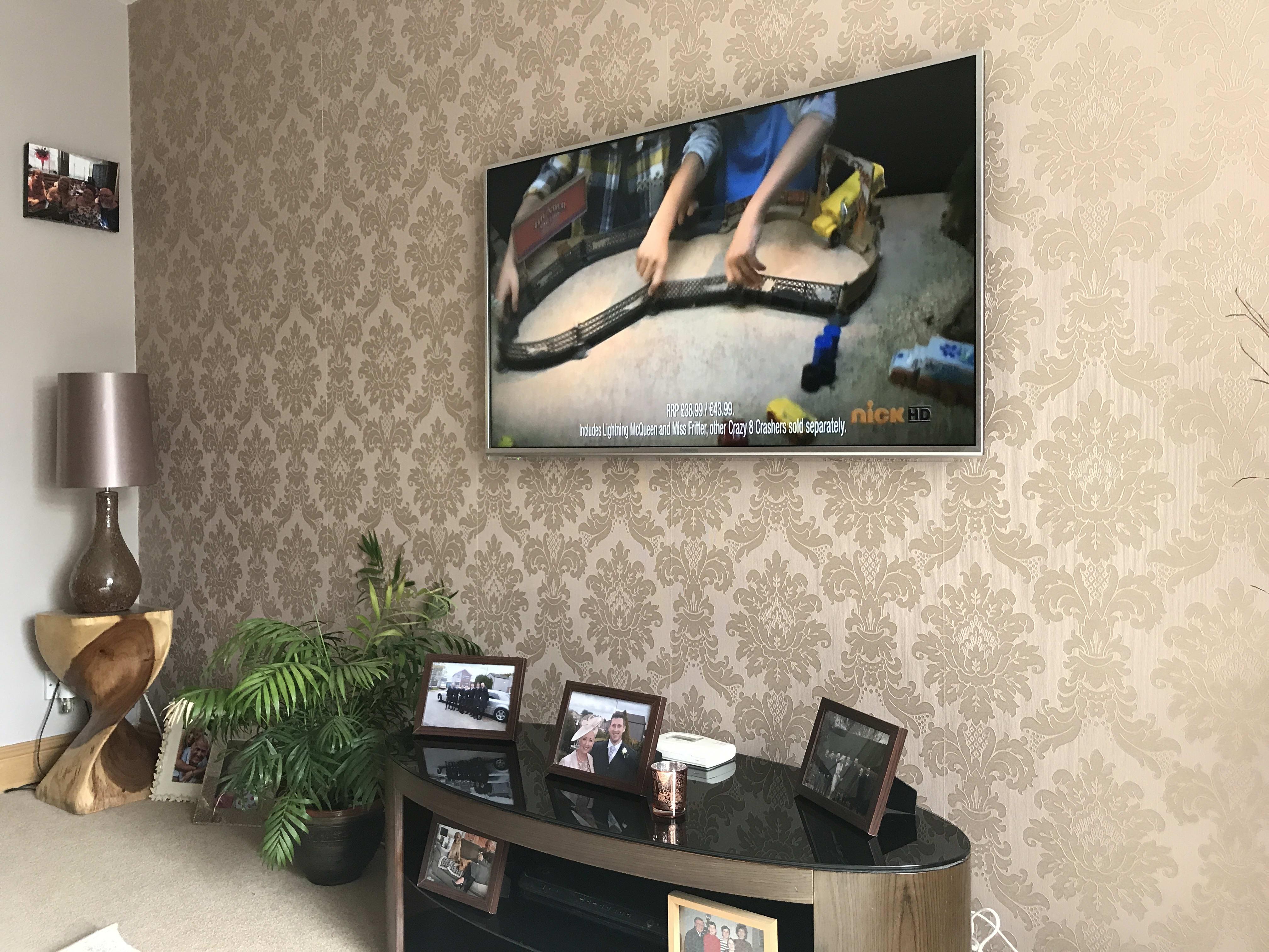 Desktop TV Installation