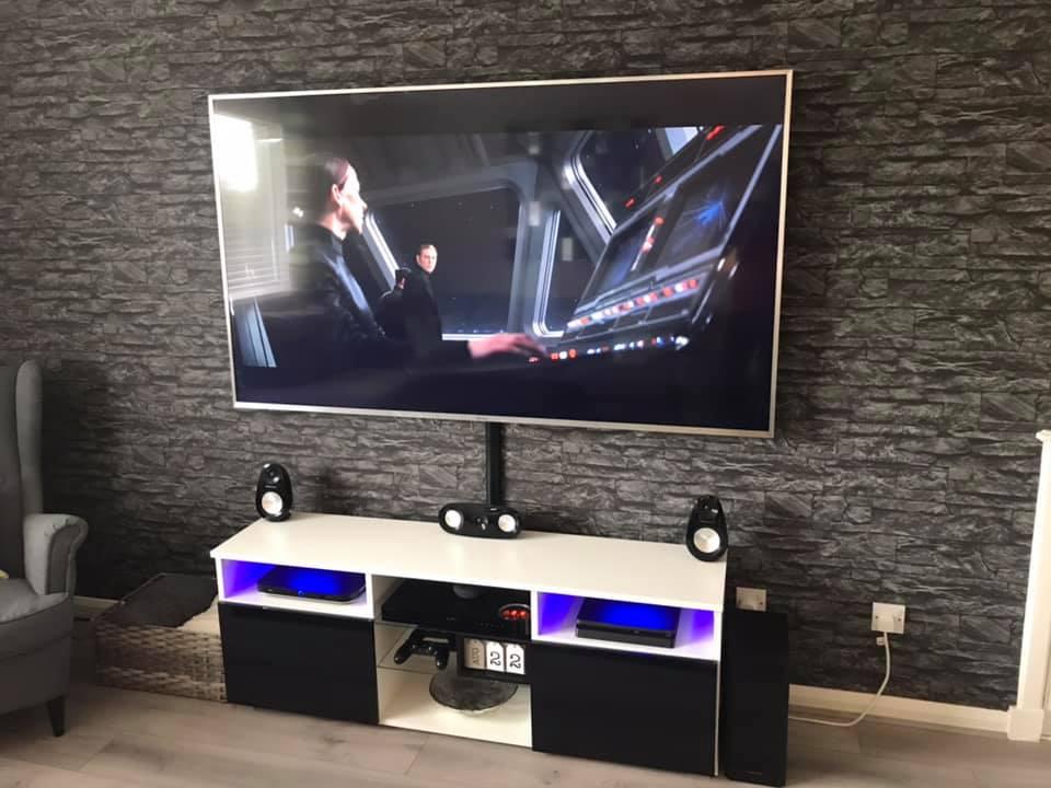 Standard TV Wall Mount Installation