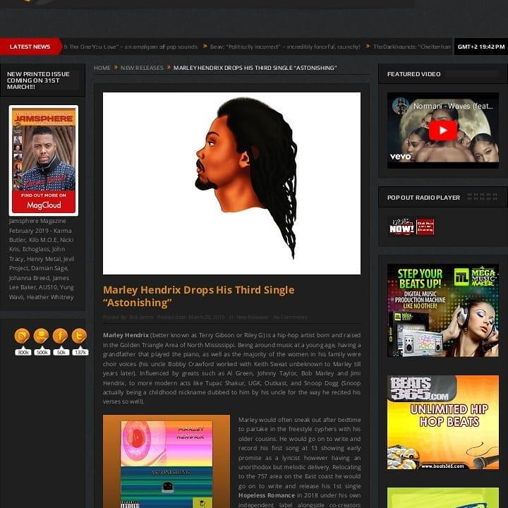 Marley Vision | Norfolk Music Artist