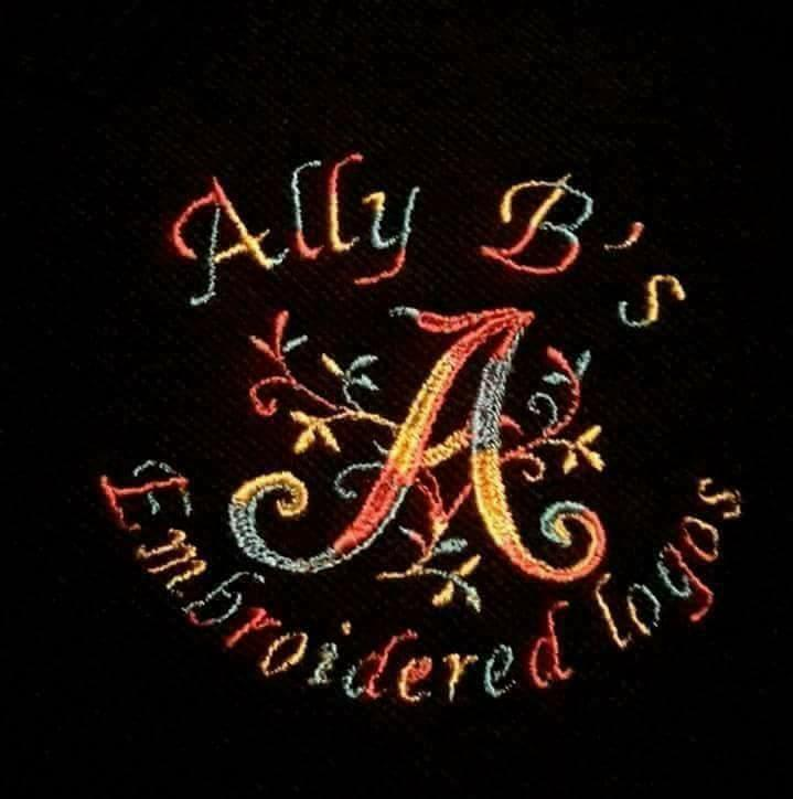 Ally B's Embroidered Logos