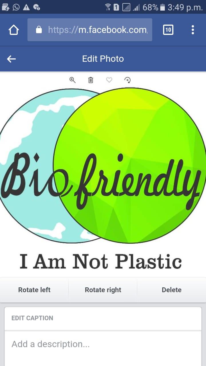 Biofriendly Bioplast