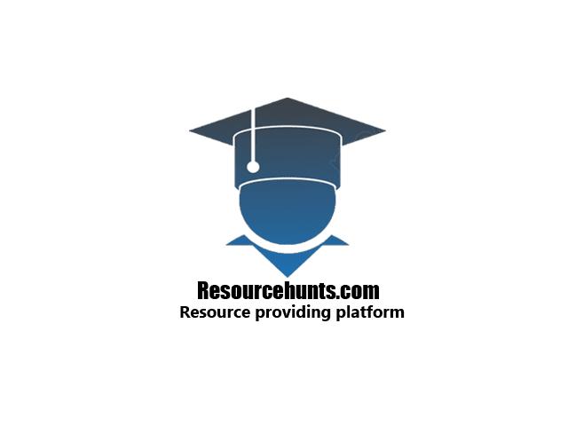 Resource Hunts
