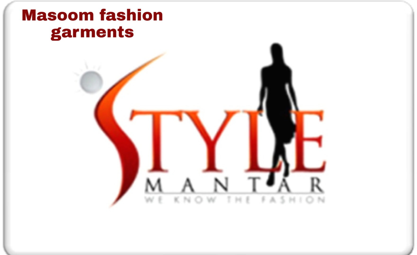 Masoom Fashion Garments