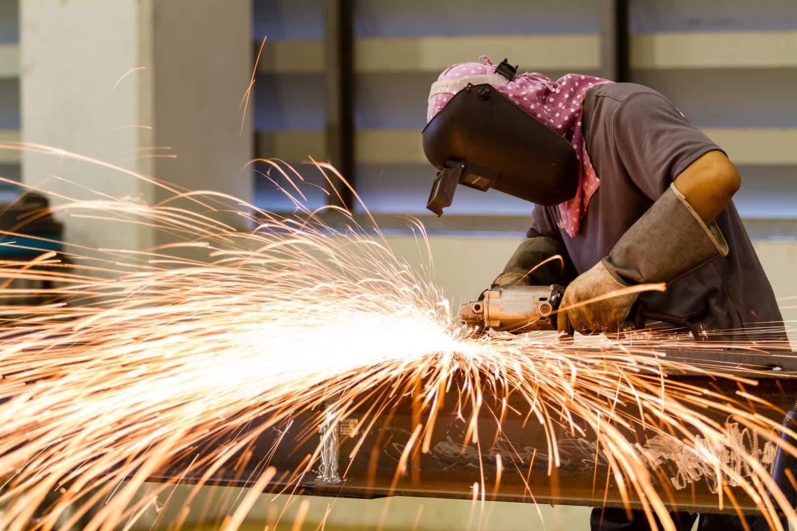 Construcciones de vigas de hierro