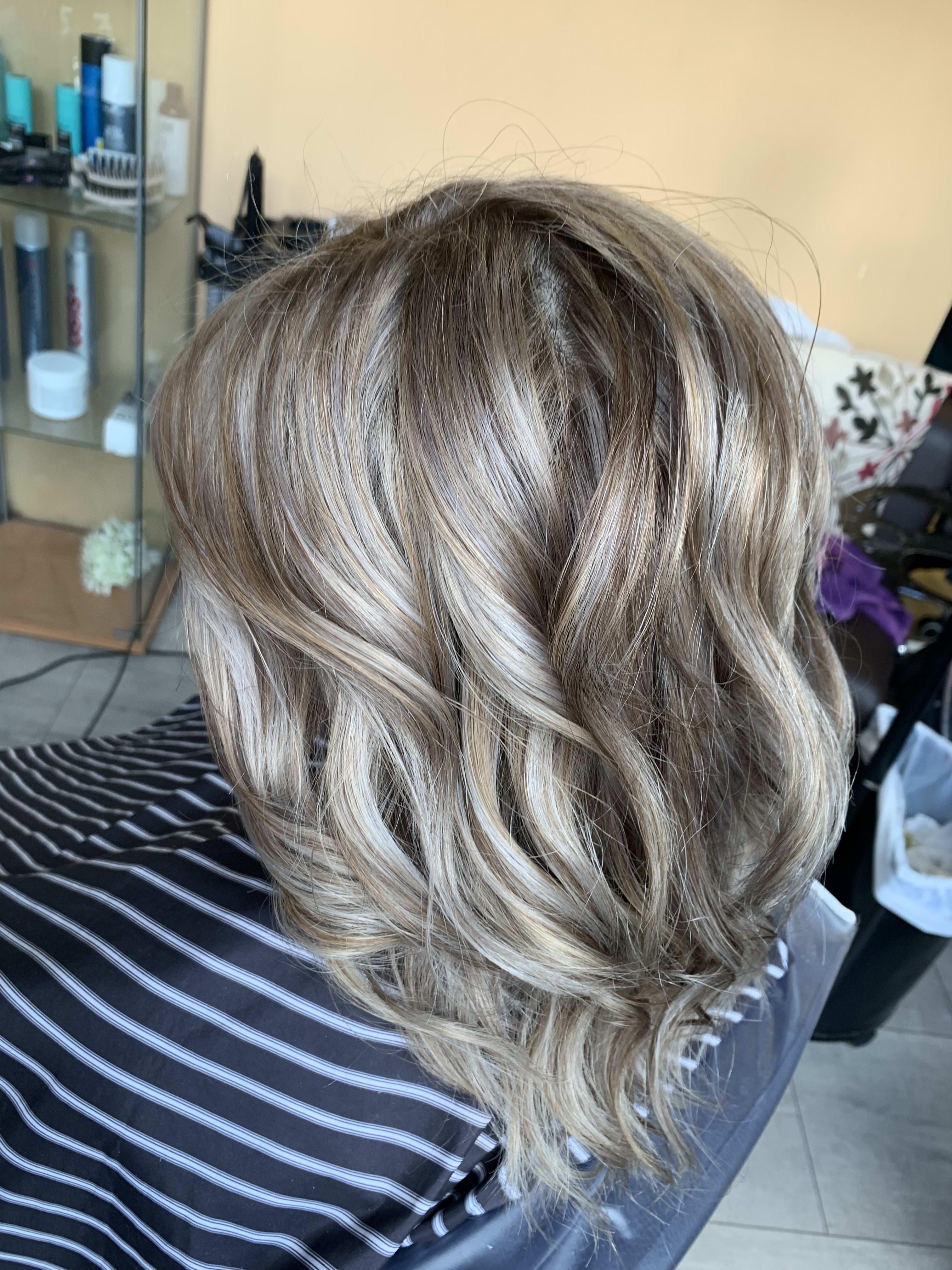 Balayage, Haircut & Blow Dry