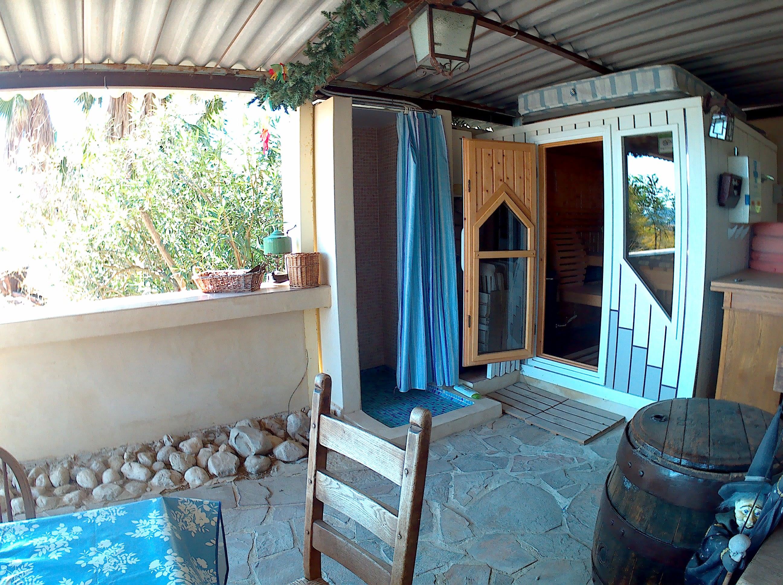 Sesión de sauna