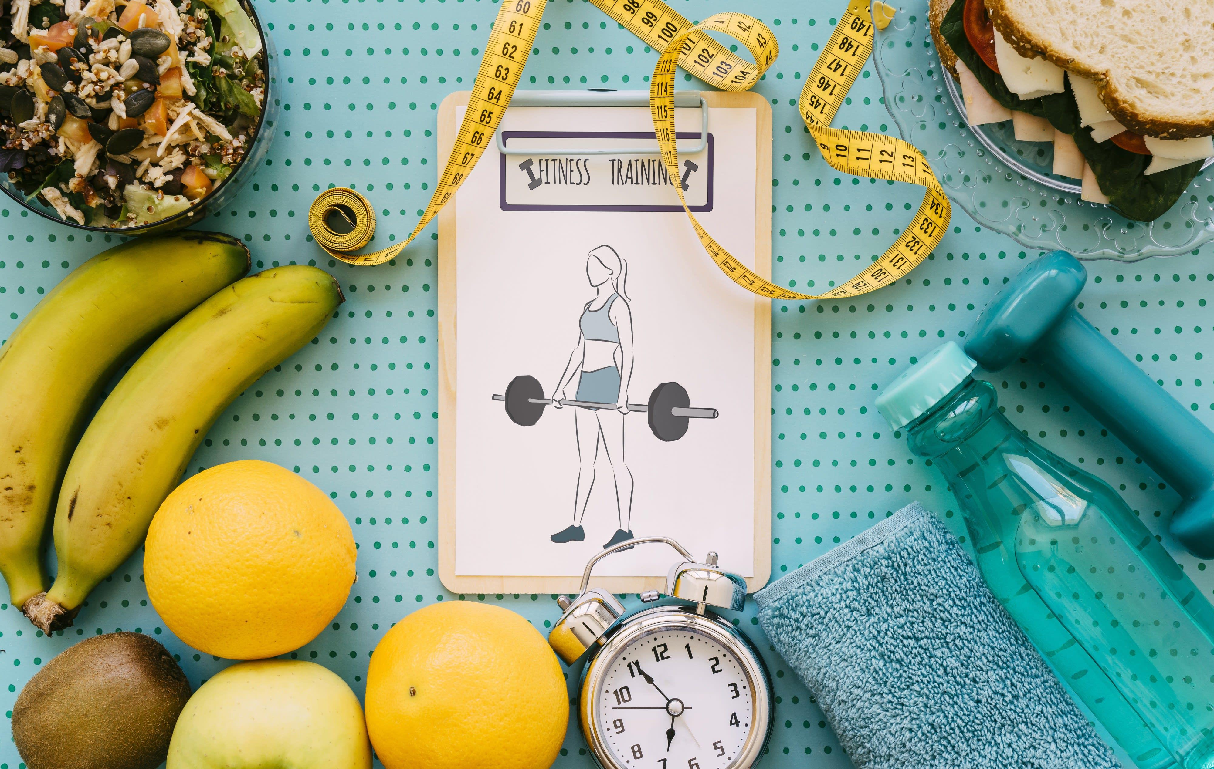 pérdida de grasa ganancia de dieta muscular