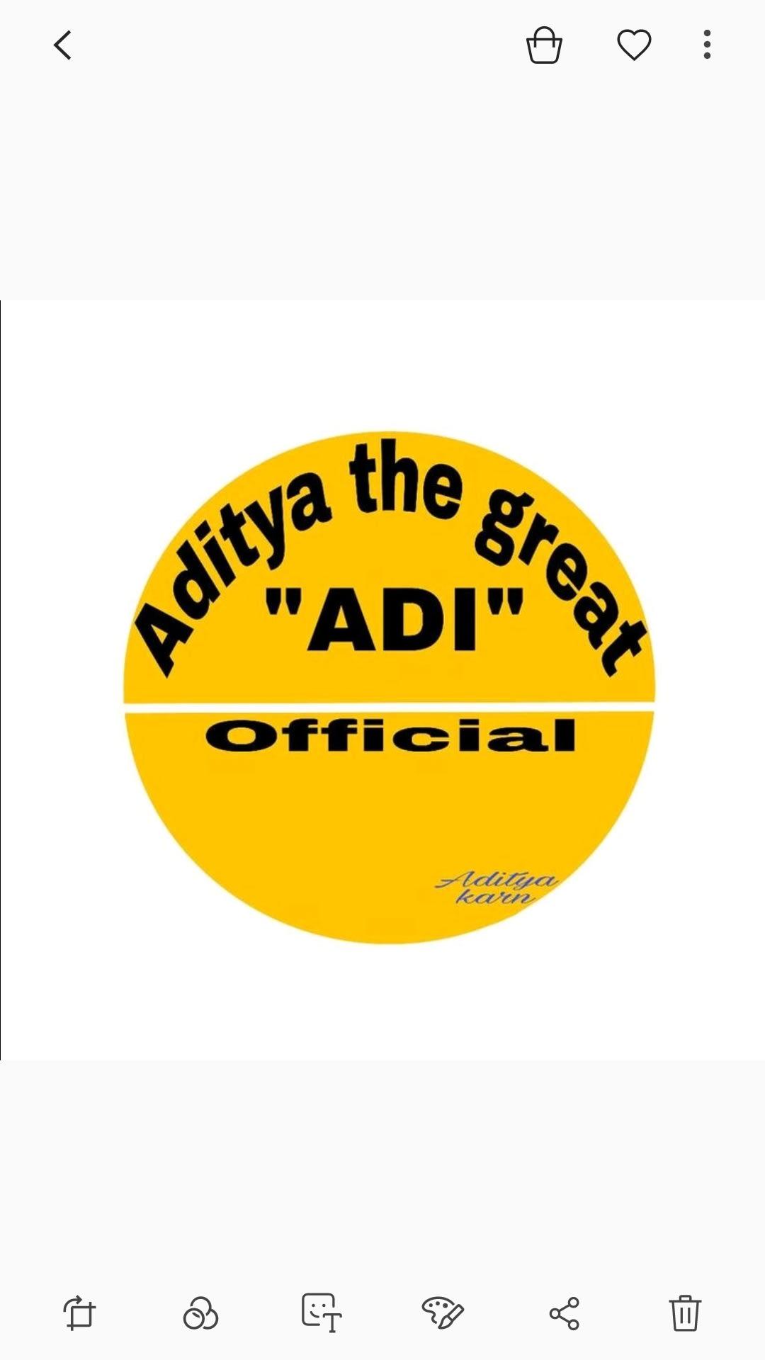 "Aditya the great ""ADI"""