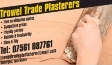 Trowel Trade Plasterers..