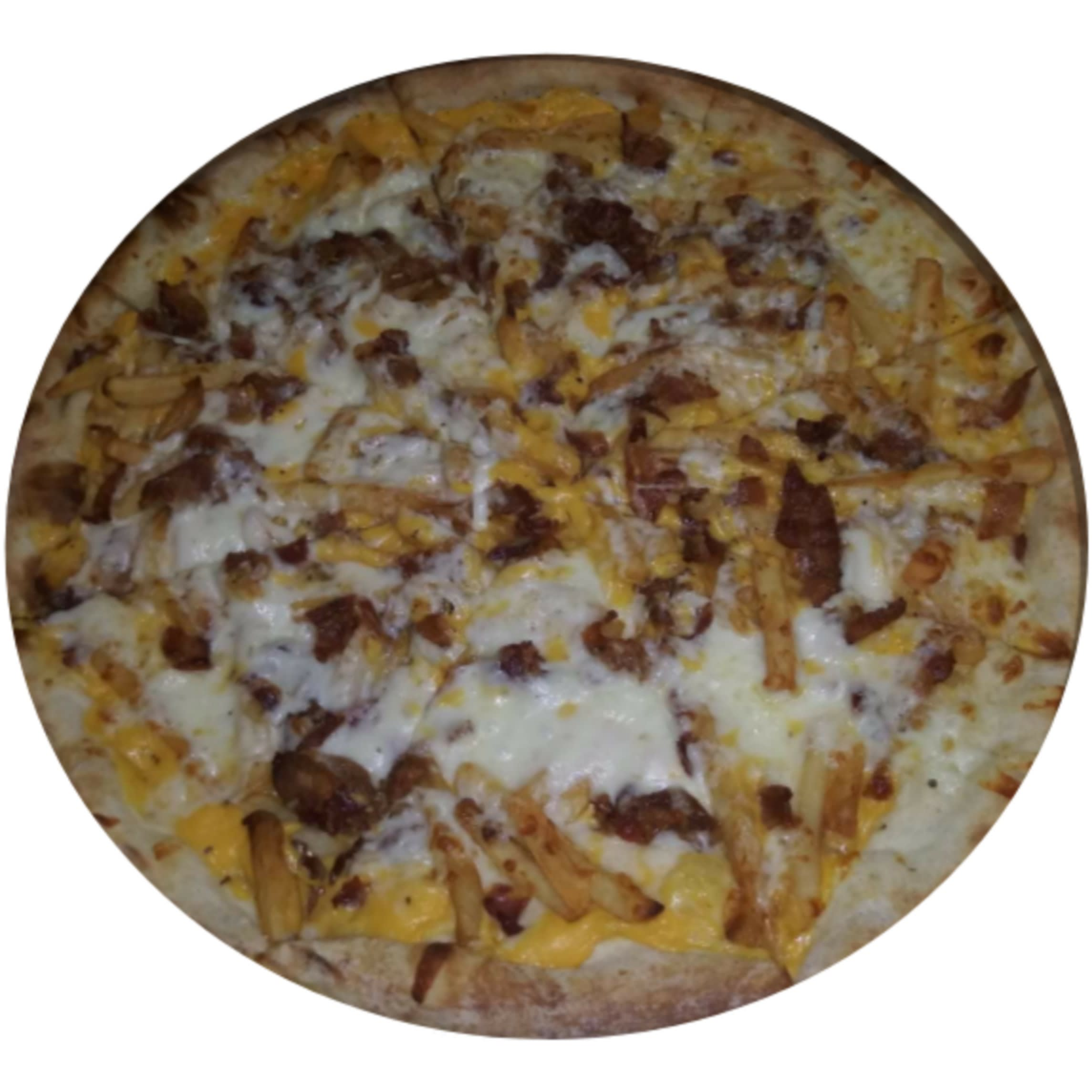 Bacon Cheese Fries Pizza
