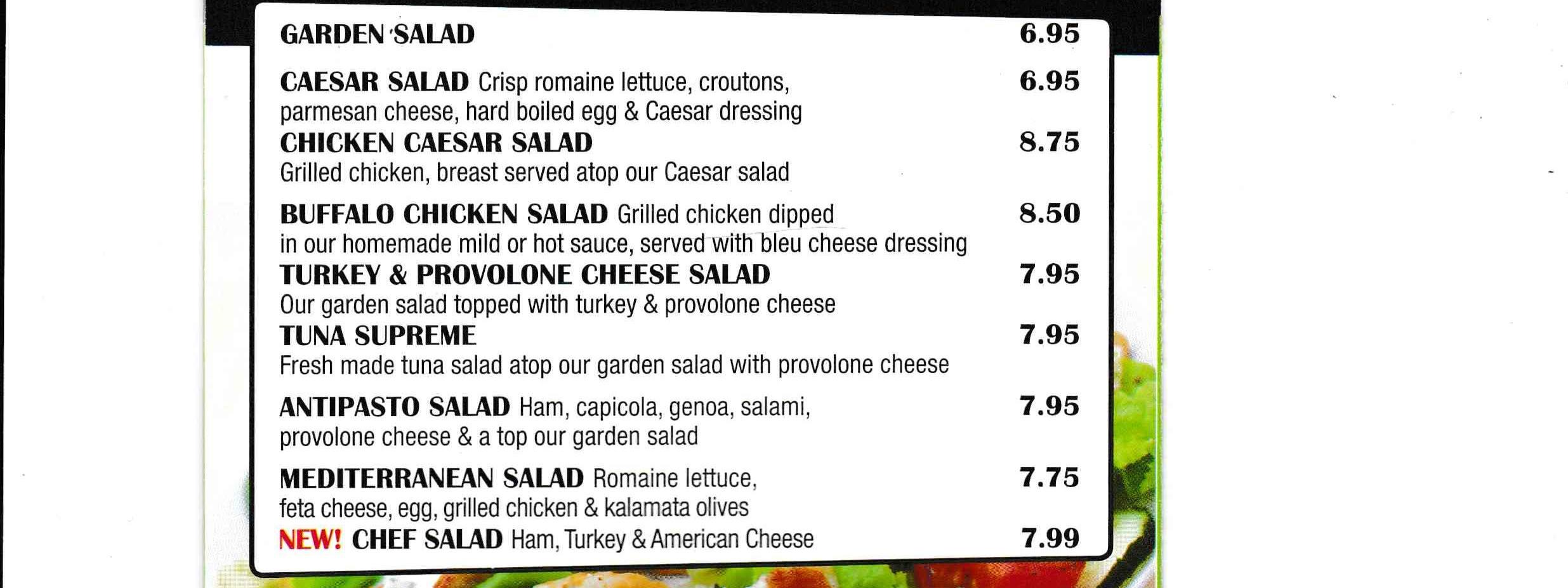 Salads ~