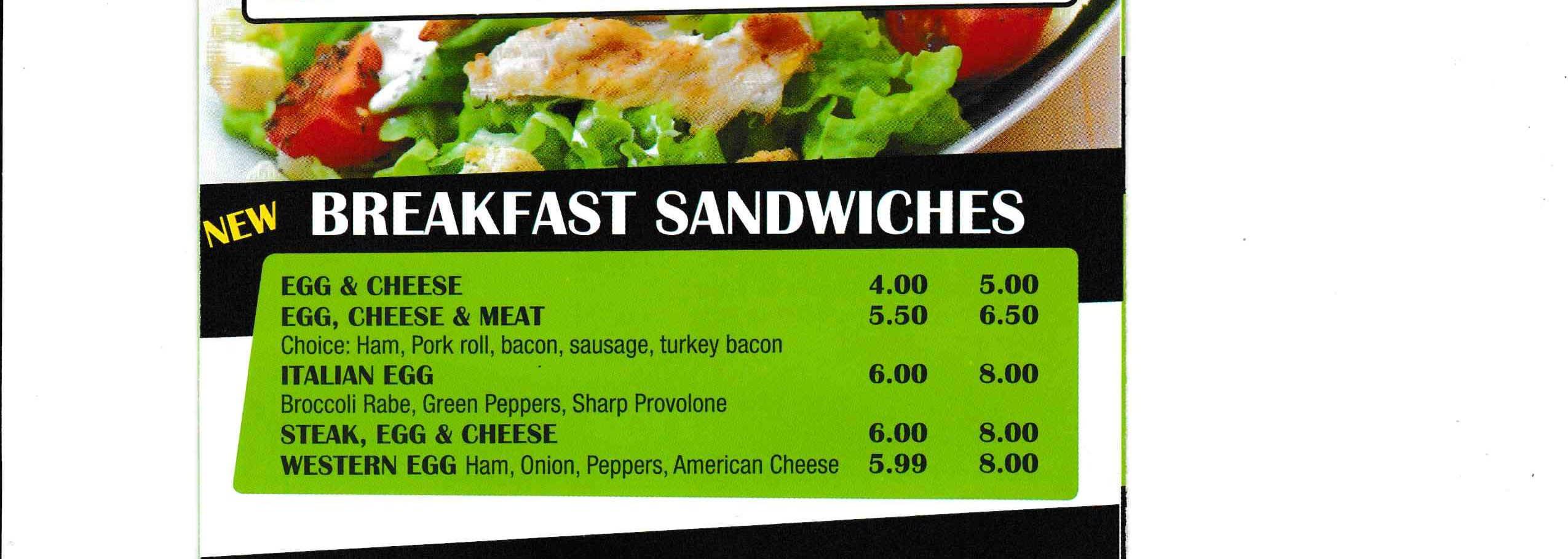 Breakfast Sandwiches ~