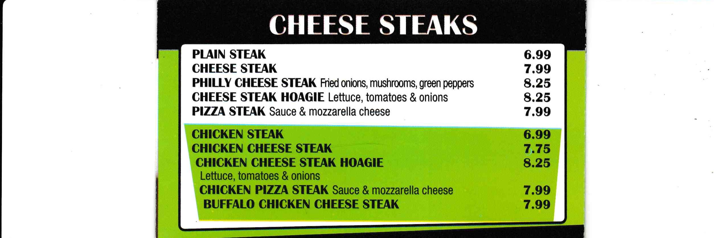 Cheese Steak ~