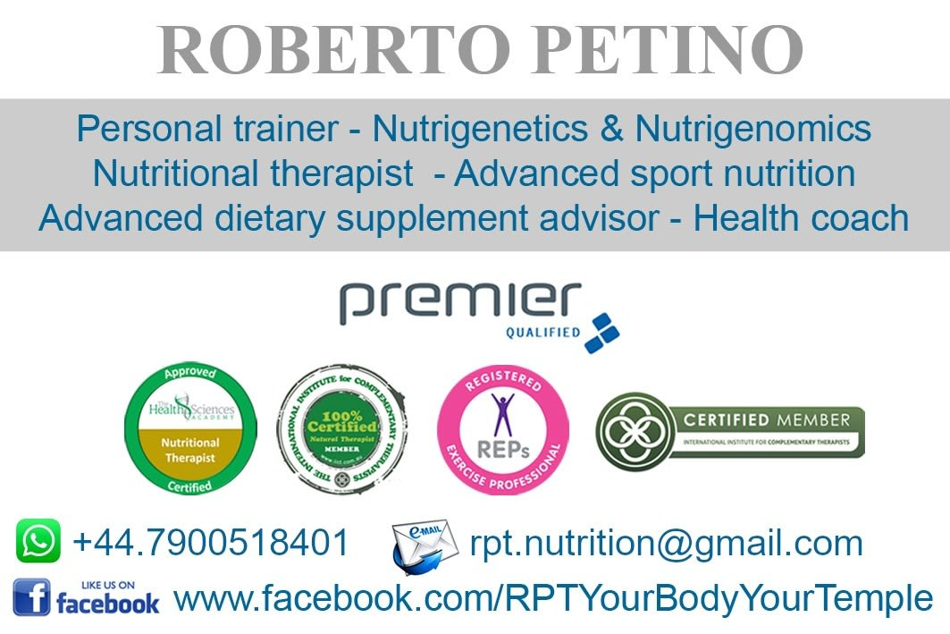 RPT - Your Body Your Temple