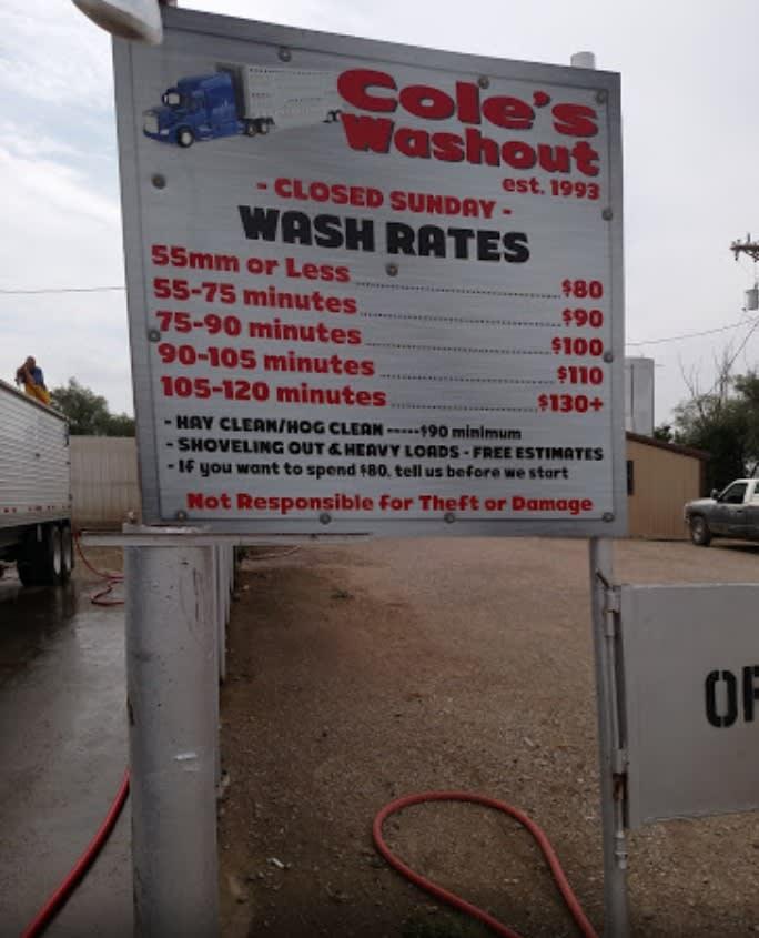 Cole's Washout