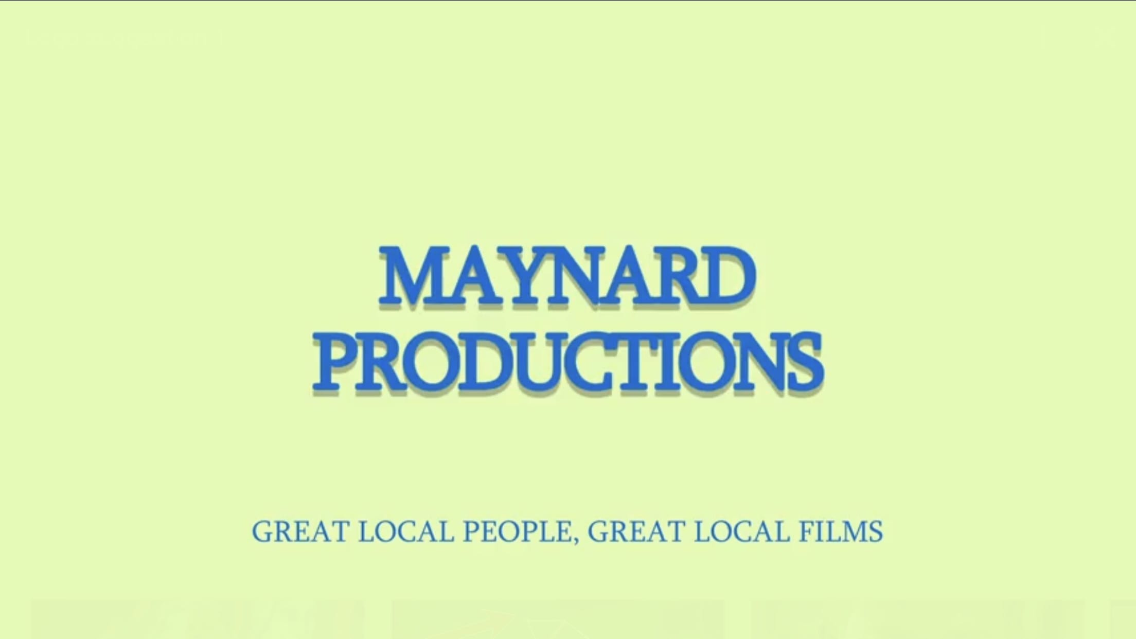 Maynard Productions