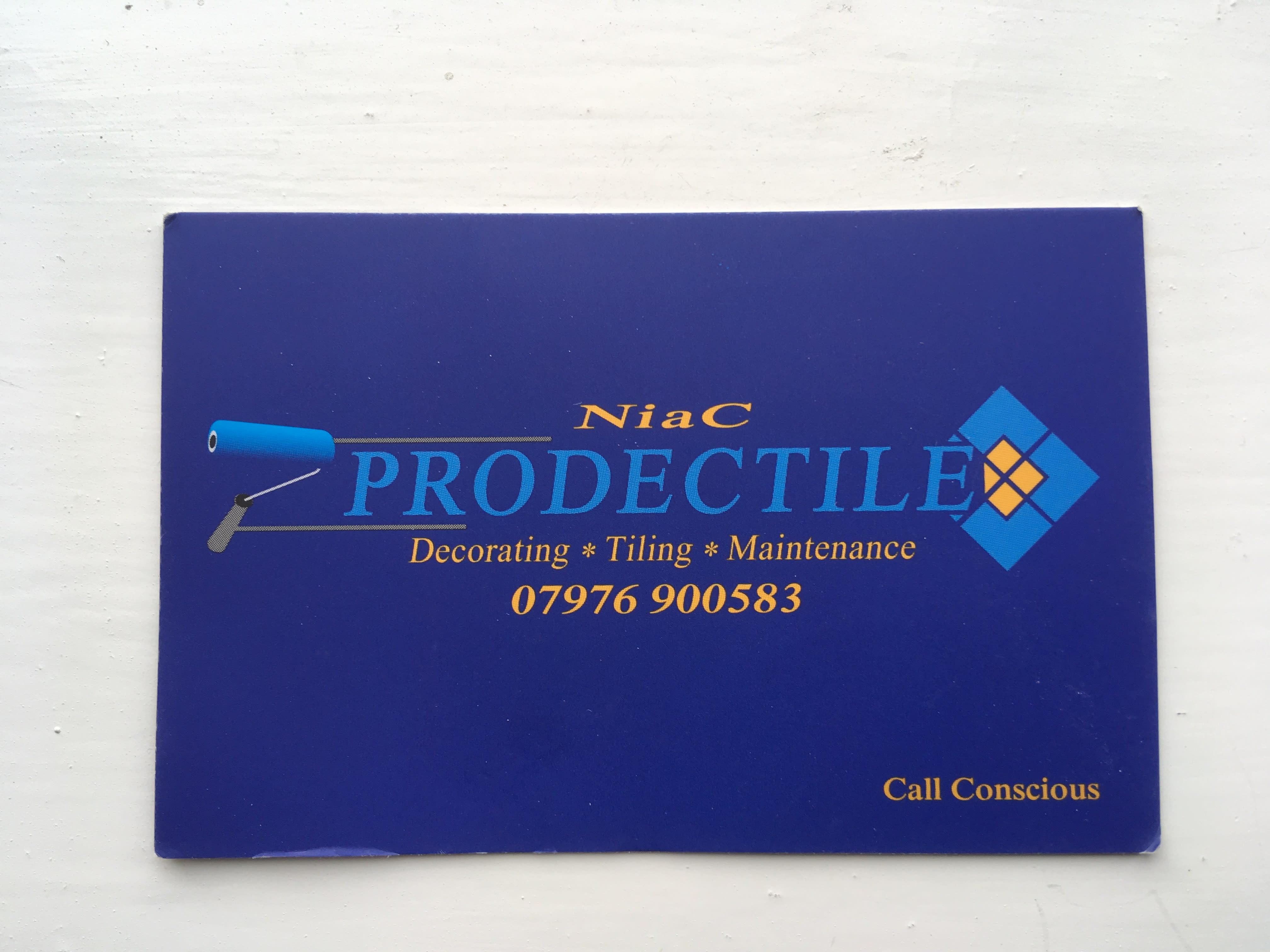 NiaC - Prodectile