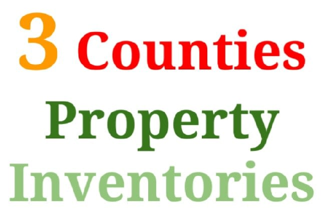 3 Counties Property Inventories
