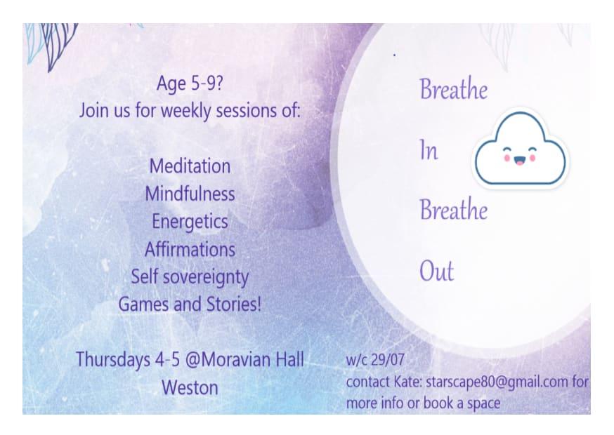 Breathe In Breathe Out: Bath Kids Meditation