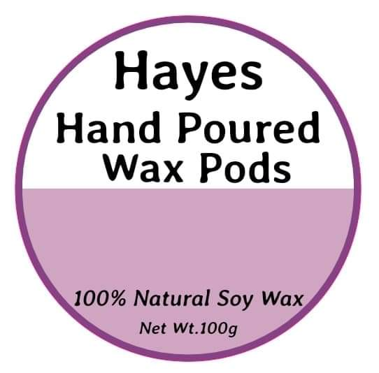 Hayes Hand Poured Wax Pods