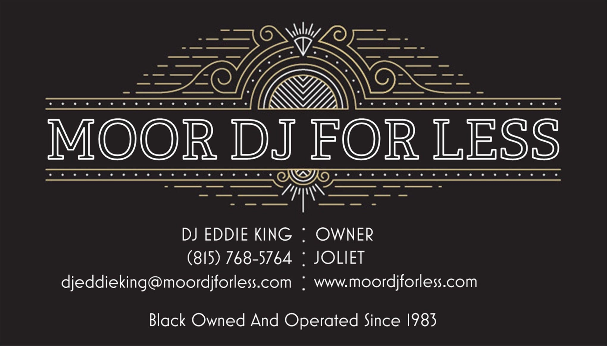 Moor DJ For Less