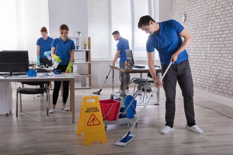 Limpieza y Mantenimiento de Inmuebles