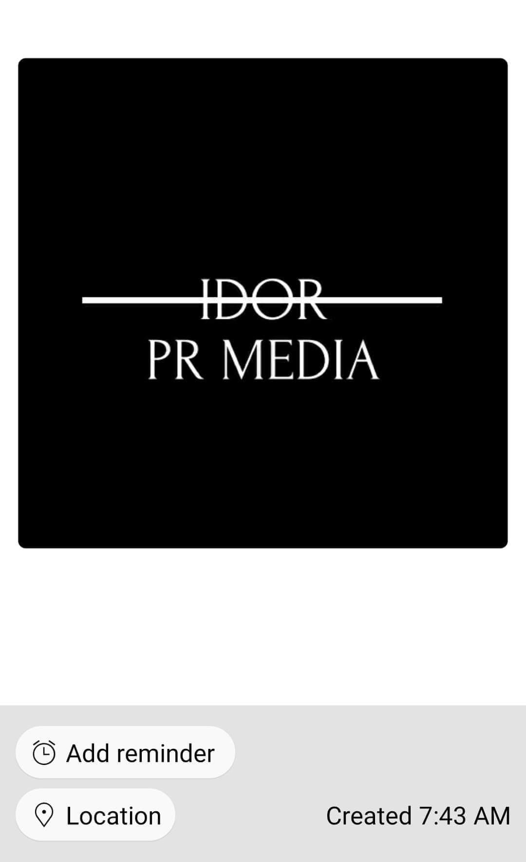 Idor PR Media