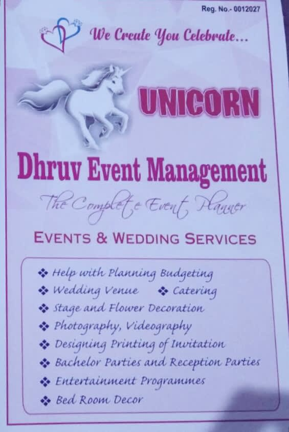 DHRUV EVENT MANAGEMENT COMPANY