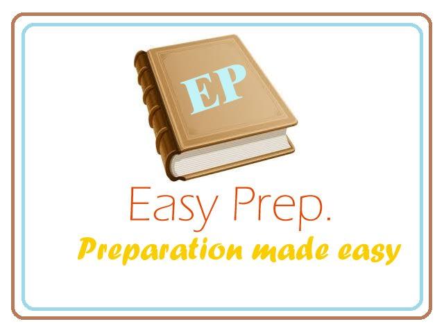 Easy Prep