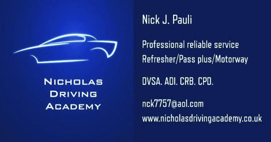 Nicholas Driving Academy