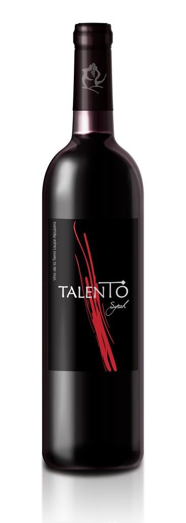 Vino Tinto TALENTO. Denominación de Origen ALPUJARRAS de ALMERÍA. Sierra Nevada)